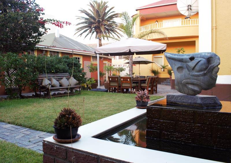 Villa Margherita Swakopmund, reis Namibie