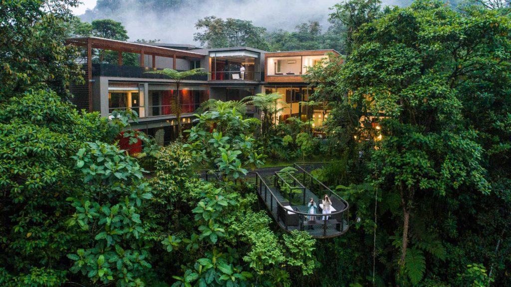 Mashpi Lodge, national geographic, reis Ecuador, lodge nevelwoud, cloud forest