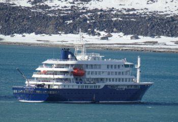Hondius bij Spitsbergen