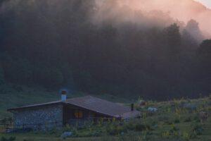 schuilhut, refuge, abruzzo berenreis