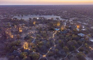 Planet Baobab aerial view