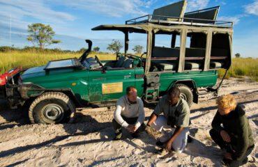 Op game drive in Mapula Reserve