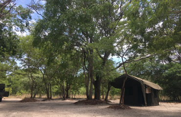 Liuwa mobile camp Liuwa Plains