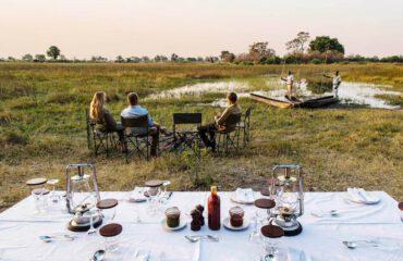 Dining in de wildernis