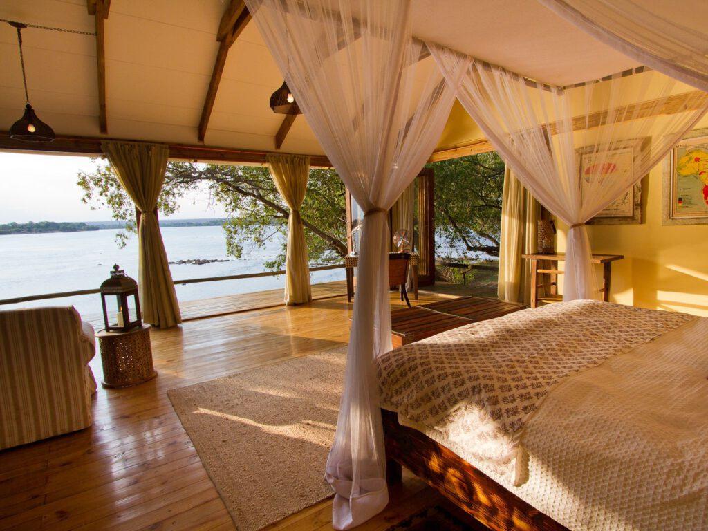 Tongabezi Lodge, 5 sterren luxe, Victoria Falls, Zambia Livingstone