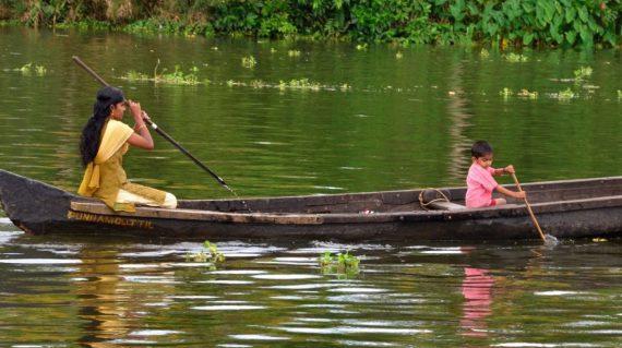 Kerala moeder en kind
